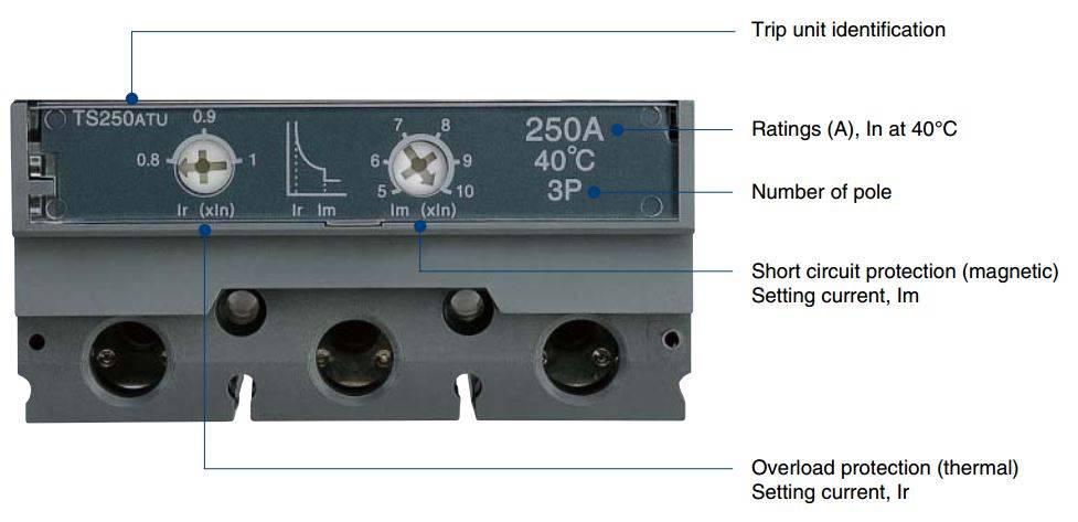 GAL ALL ATU - کلید اتوماتیک،کمپکت 160 آمپر،قابل تنظیم حرارتی-مغناطیسی LS سری SUSOL