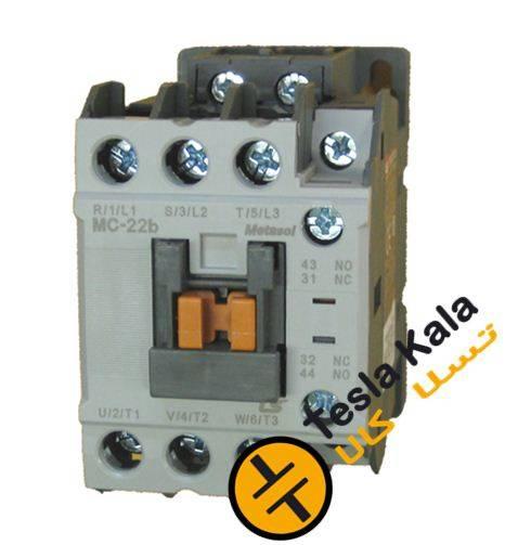 کنتاکتور قدرت، 9 آمپر، 4 کیلووات، بوبین VAC 220، برند LS مدل MC-9b