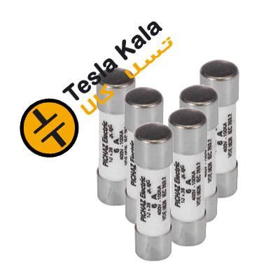 مجموعه شش تایی فیوز سیلندری 2 تا 32 آمپر پیچاز الکتریک 38*10 gG/gL