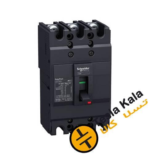کلید اتوماتیک،اشنایدر 32 آمپر،غیرقابل تنظیم حرارتی-مغناطیسی سری EZC