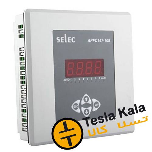 رگولاتور بانک خازنی، 8 پله پارس selec  مدل PFC147-108