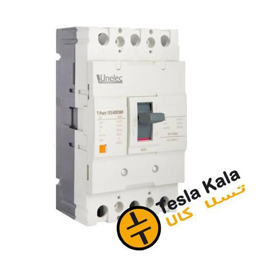 کلید اتوماتیک 63 آمپر  Unelec ،غیرقابل تنظیم حرارتی-مغناطیسی سری T-pact DF