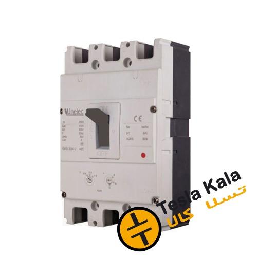 کلید اتوماتیک 40 آمپر Unelec ، قابل تنظیم حرارتی-مغناطیسی سری T-pact DT