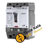 کلید اتوماتیک،کمپکت 160 آمپر،قابل تنظیم حرارتی-مغناطیسی LS سری SUSOL