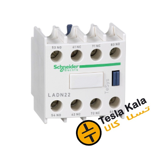کنتاکت کمکی قابل نصب روی کنتاکتور اشنایدر مدل LADN22 -2NO2NC