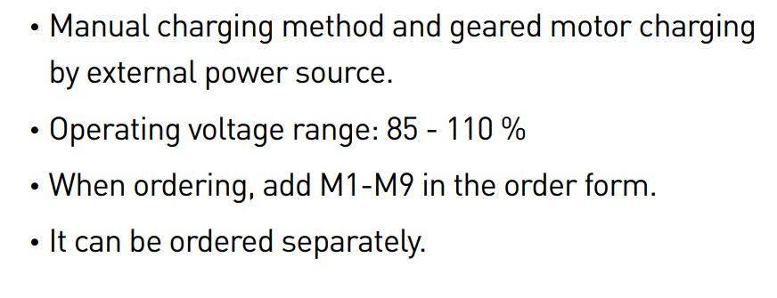 GALLERY 2 MOTOR - موتور عملگر، جهت کلید هوایی هیوندای، HYUNDAI 220VAC/DC UANSM2U