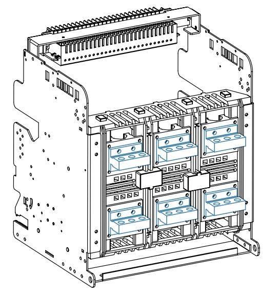GALLERY ALL ACB HYUNDAI - کلید هوایی، 1250 آمپر، با ساختار بدنه فیکس، HYUNDAI مدل UAS