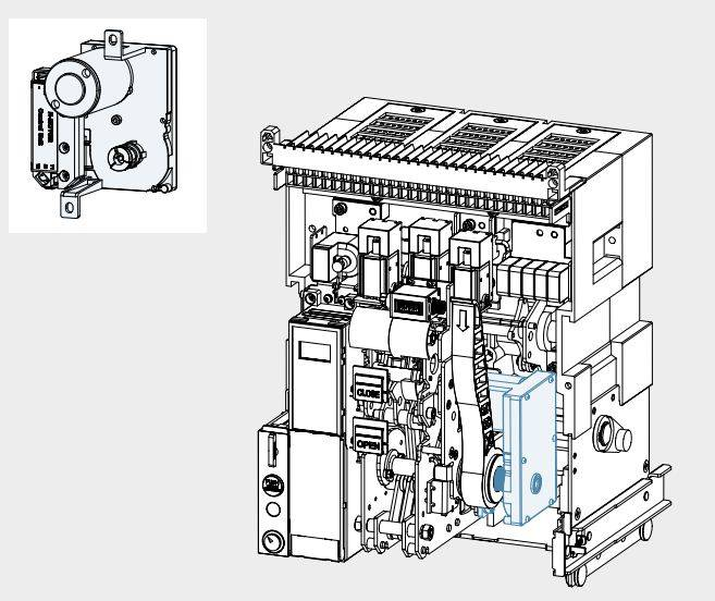 GALLERY MOTOR - موتور عملگر، جهت کلید هوایی هیوندای، HYUNDAI 220VAC/DC UANSM2U