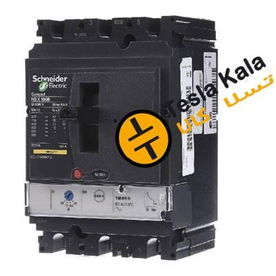 NSX100B - تسلاکالا- قیمت انواع تجهیزات تابلو بانک خازنی، کلید اتوماتیک و کنتاکتور
