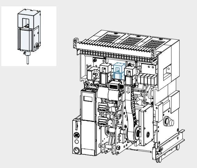 UVT GALLERY - رله آندر ولتاژ، جهت کلید هوایی هیوندای، HYUNDAI 220VAC/DC UANSU2