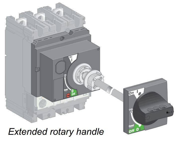 all 2 - کلید اتوماتیک، اشنایدر 16 آمپر، قابل تنظیم حرارتی- ثابت مغناطیسی سری NSX