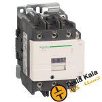 کنتاکتور قدرت، 95 آمپر اشنایدر 52 کیلووات، بوبین 220VAC ، مدل LC1D95M7