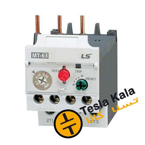 بی متال ( رله حرارتی/ اضافه جریان) LS مدل MT63 3H تنظیمات 18 : 25