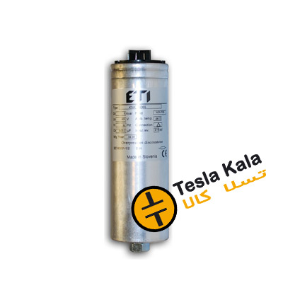 خازن 3فاز فشارضعیف، 2.5 کیلووار 440 ولت ( 2 در 400 )  ETI