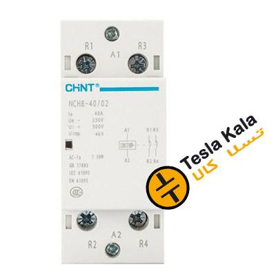 F CHINT SINGLE PHASE CONTACTOR 40 63  - تسلاکالا- قیمت انواع تجهیزات تابلو بانک خازنی، کلید اتوماتیک و کنتاکتور