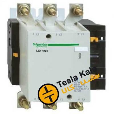 کنتاکتور قدرت، 115 آمپر اشنایدر 60 کیلووات، بوبین 220VAC ، مدل LC1F115M5