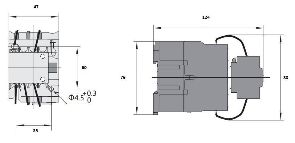 کنتاکتور خازنی 12.5 کیلوواری برند CHINT مدل CJ19-2511