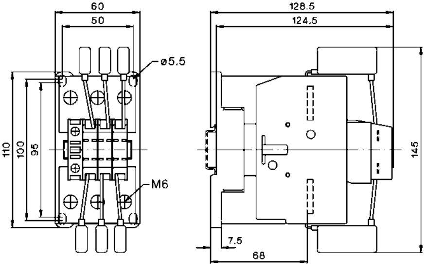 کنتاکتور خازنی 75 کیلوواری برند EPCOS  ساخت آلمان