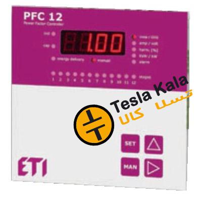 رگولاتور بانک خازنی  ETI مدل PFC 12  ابعاد 144*144
