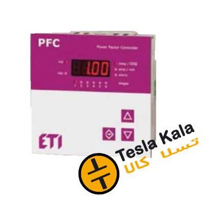 رگولاتور بانک خازنی  ETI مدل PFC 6    ابعاد 96*96