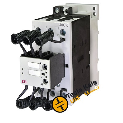 کنتاکتور خازنی 40کیلوواری برند ETI مدل CNNK 40