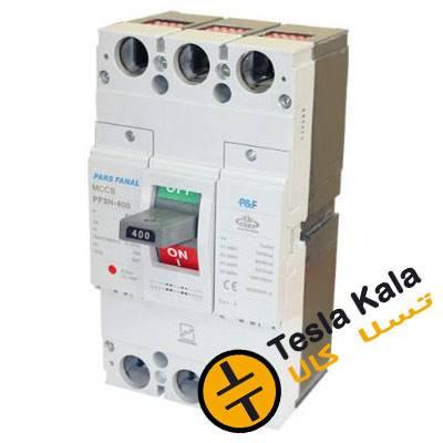 کلید اتوماتیک، پارس فانال 300 آمپر، غیرقابل تنظیم حرارتی-مغناطیسی-PF3N-400