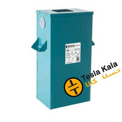 باکس خازن 3فاز فشارضعیف، 50 کیلووار در 440 ولت ( 40 در 400) RTR اسپانیا مدل BO.R.TER
