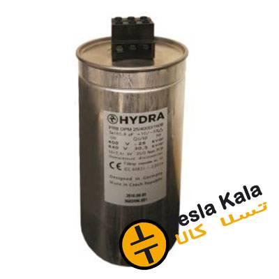 خازن 3فاز هیدرا، روغنی آلمان-چک، 15 کیلووار در 440 ولت ( 12.5 در 400) HYDRA
