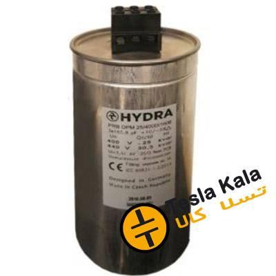 خازن 3فاز هیدرا، روغنی آلمان-چک، 50 کیلووار در 440 ولت ( 41 در 400) HYDRA