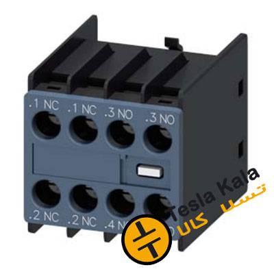 کنتاکت کمکی قابل نصب روی کنتاکتور زیمنس 3RT2 مدل 3RH2911-1HA22