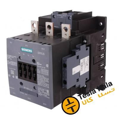 کنتاکتور قدرت، 150 آمپر، 75 کیلووات، بوبین 230VAC ،مدل SIEMENS 3RT1055-6AP36
