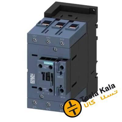 کنتاکتور قدرت، 95 آمپر، 45 کیلووات، بوبین 230VAC ،مدل SIEMENS 3RT2046-1AP00