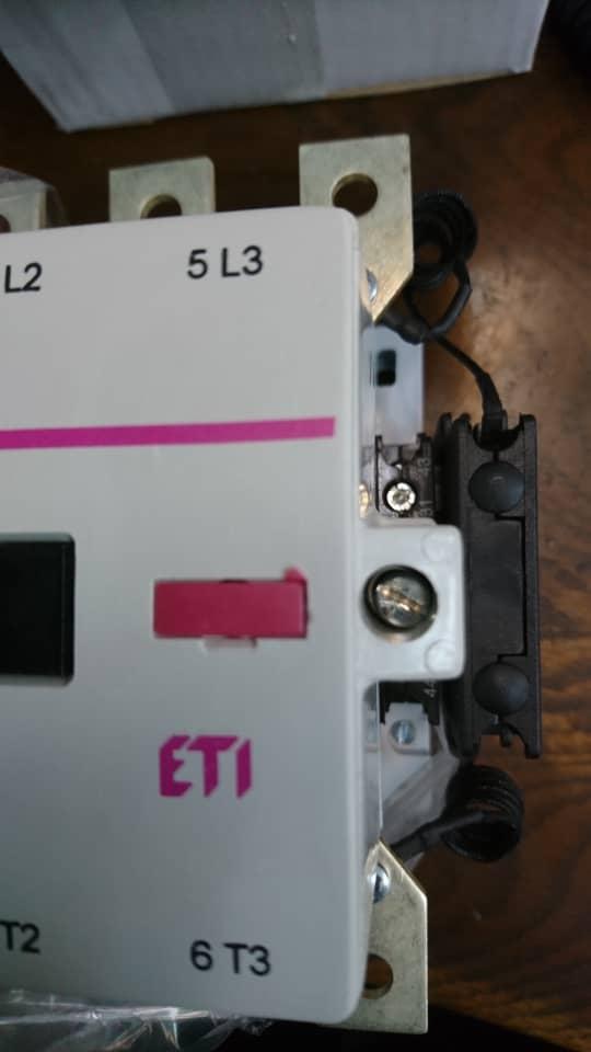 کنتاکتور خازنی 60کیلوواری ETI مدل 22 CNKM 60