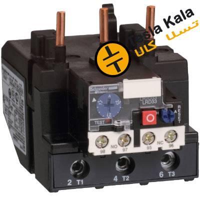 بی متال ( رله حرارتی/ اضافه جریان) اشنایدر مدل LRD3359 تنظیمات 48 :65