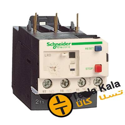 بی متال ( رله حرارتی/ اضافه جریان) اشنایدر مدل LRD16 تنظیمات 9 :13