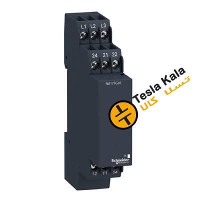 کنترل فاز اشنایدر تک حالته ( تک چراغه ) مدل  RM17TG20