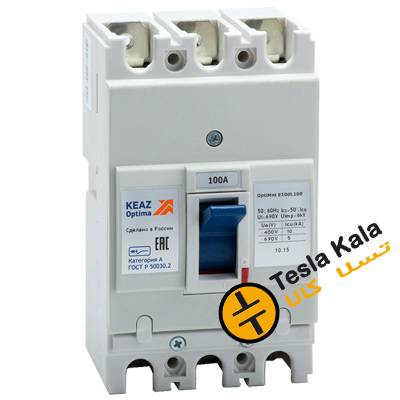 کلید اتوماتیک 25 آمپر، کیاز روسیه KEAZ غیرقابل تنظیم حرارتی-مغناطیسی سری OptiMat E