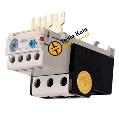 بی متال ( رله حرارتی/ اضافه جریان) پارس فانال مدل PFR40 تنظیمات 28 : 40