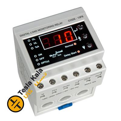 کنترل بار دیجیتال شیوا امواج 1 تا 60 آمپر  کد محصول  13F6
