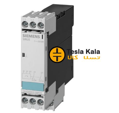 کنترل فاز SIEMENS تک حالته ( تک چراغه ) مدل 3UG4511-1AP20