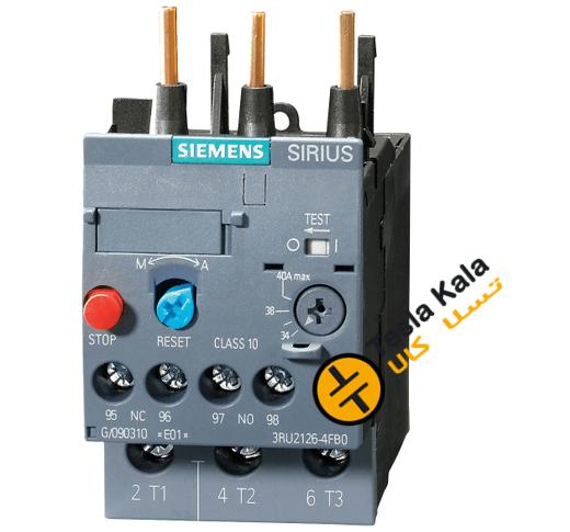 بی متال ( رله حرارتی/ اضافه جریان) SIEMENS مدل 3RU2126-4EB0 تنظیمات 27 :32