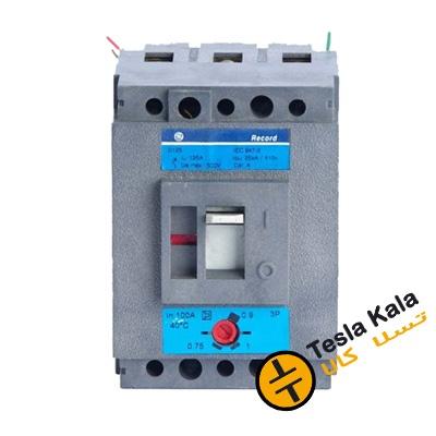 کلید اتوماتیک 40 آمپر Unelec ، قابل تنظیم حرارتی-مغناطیسی سری RECORD