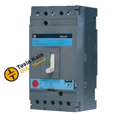 کلید اتوماتیک 250 آمپر Unelec ، قابل تنظیم حرارتی-مغناطیسی سری RECORD