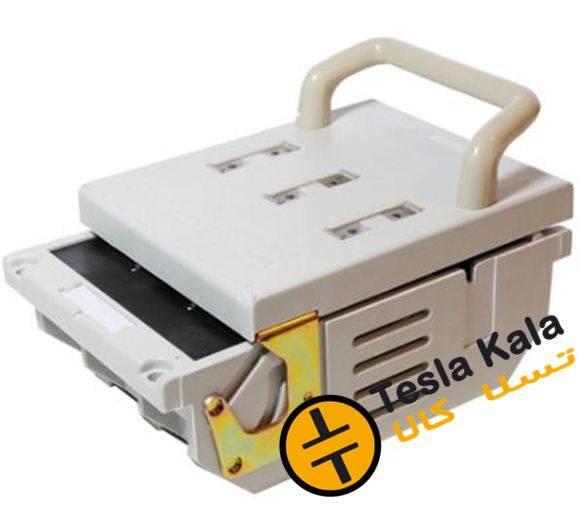 کلید فیوز افقی 400 آمپر پیچاز الکتریک PICHAZ طرح AEG  پلیمر الیاف دار مدل  BMC-PEFS