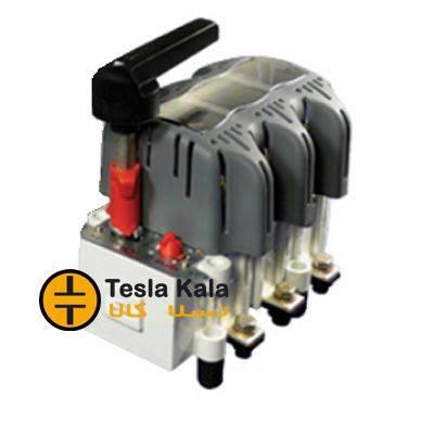 کلید فیوز گردان قابل قطع زیر بار 160 آمپر زاویر دسته معمولی مدل ZTF01