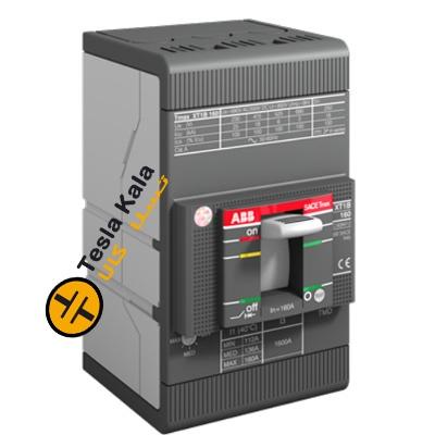 کلید اتوماتیک 100 آمپر ABB قابل تنظیم حرارتی-مغناطیسی XT1C160TMD-1SDA067397R1