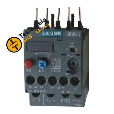 بی متال ( رله حرارتی/ اضافه جریان) SIEMENS مدل 3RU2116-0JB0 تنظیمات 0.7 : 1
