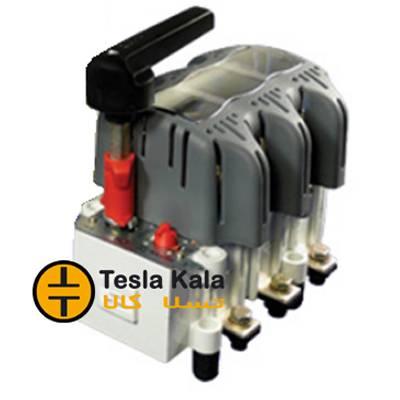 کلید فیوز گردان قابل قطع زیر بار 250 آمپر زاویر دسته معمولی مدل ZTF01