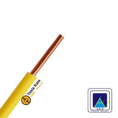 سیم مفتول سطح مقطع 0.5 برند البرز الکتریک نور ( صد متر )