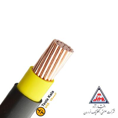 کابل قدرت زمینی نمره 16×1 برند افشار نژاد خراسان ( صد متر )
